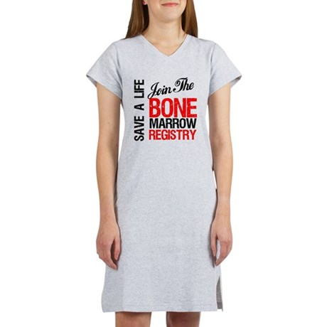 JoinTheBoneMarrowRegistry Women's Nightshirt
