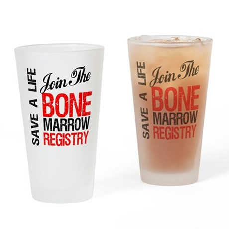 JoinTheBoneMarrowRegistry Drinking Glass
