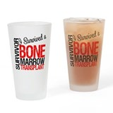 I Survived a BMT Drinking Glass