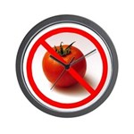 No Time for Tomatoes Wall Clock