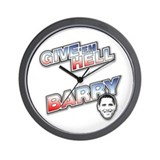 Give 'Em Hell Barry Wall Clock