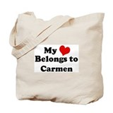 My Heart: Carmen Tote Bag