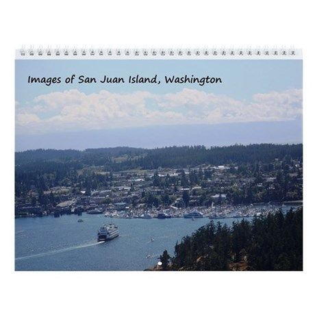Wall Calendar-San Juan Island, WA