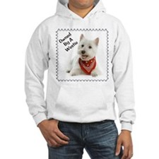 Owned By A Westie 123 Sudaderas con capucha