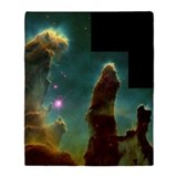 Pillars of Creation Throw Blanket