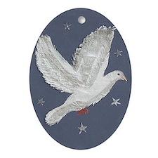 Dove Ornament (Oval) - NEW!