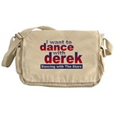 I Want to Dance with Derek Messenger Bag