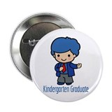 Kindergarten Graduate (Boy) Button