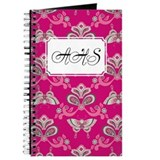 Butterfly Asian Pink Journal