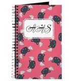 Cat Cute Pink Journal