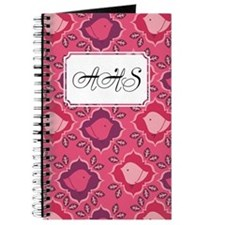 Chick Leaves Pink Journal