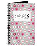 Dot Flower Pink Peach Journal