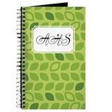 Dot Pattern Green2 Journal