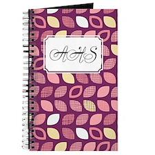 Dot Pattern Purple Pink Journal