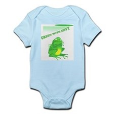 Green with Envy Infant Creeper