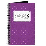 Dots Square Lilac Journal