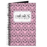 Flourish Romantic Pink Journal