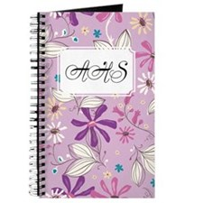 Flower Botanical Lilac Journal