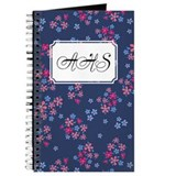 Flower Liberty Blue Journal