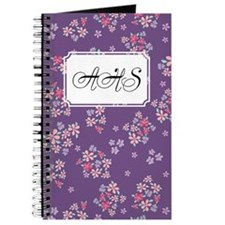 Flower Liberty Purple Journal