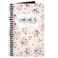 Flower Liberty White Journal