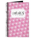 Flower Loop Pink Journal