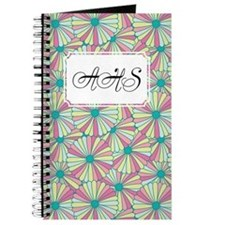 Flower Rainbow Pink Journal