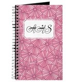 Flower Rainbow Pink Pink Journal