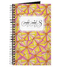 Flower Rainbow Yellow Journal