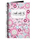 Flower Vines Pink Journal