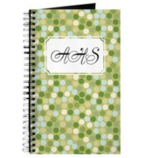 Mosaic Dots Green Journal
