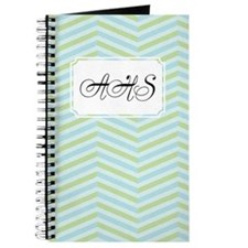 ZigZags GreenBlue Journal