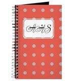 Polka Dots Pink Journal