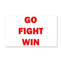 GO FIGHT WIN™ Car Magnet 20 x 12