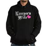 Lawyer's Wife Hoodie (dark)