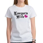 Lawyer's Wife Women's T-Shirt
