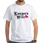 Lawyer's Wife White T-Shirt
