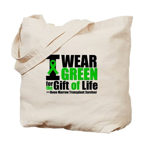 BMT I Wear Green Tote Bag