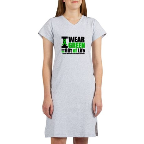 BMT I Wear Green Women's Nightshirt