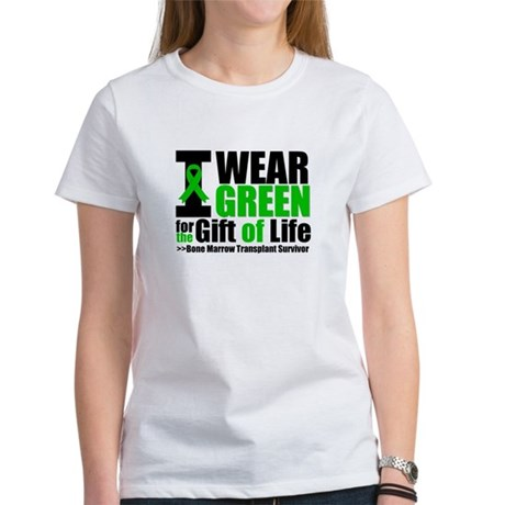 BMT I Wear Green Women's T-Shirt