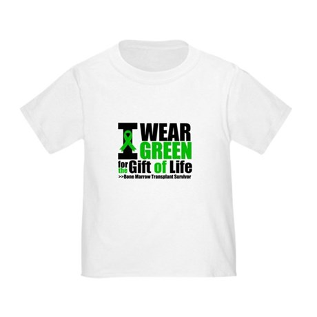 BMT I Wear Green Toddler T-Shirt