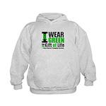 BMT I Wear Green Kids Hoodie