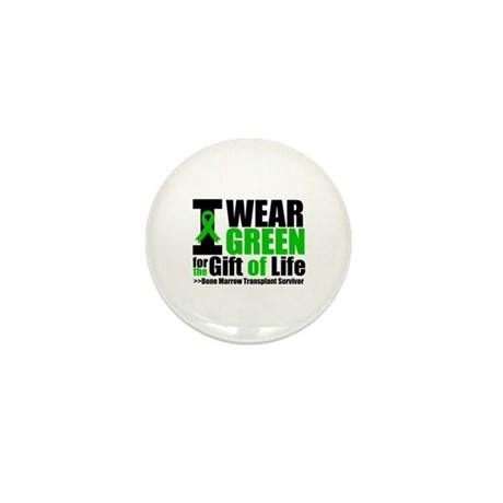 BMT I Wear Green Mini Button (10 pack)