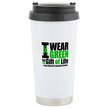 BMT I Wear Green Ceramic Travel Mug
