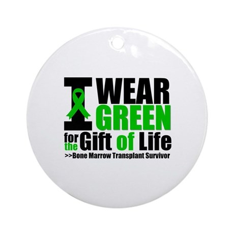 BMT I Wear Green Ornament (Round)
