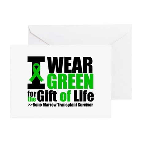 BMT I Wear Green Greeting Card