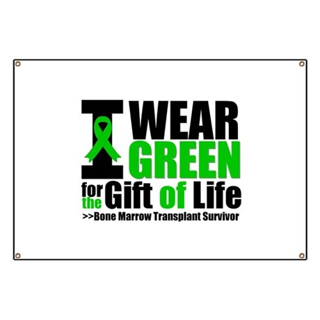 BMT I Wear Green Banner