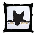 PS Dogs Throw Pillow