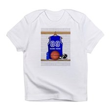 Personalized Basketball Jerse Infant T-Shirt