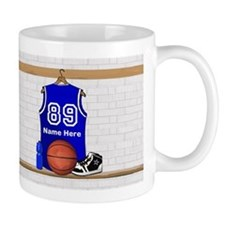 Personalized Basketball Jerse Small Mug